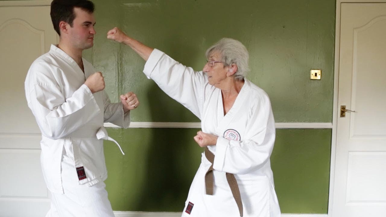 Karate-Mad Pensioner Can Break Boards With Bare Hands 4