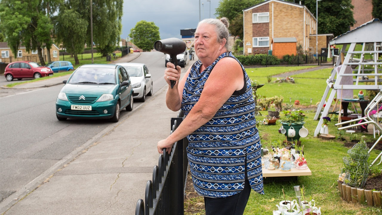 Grandmother Uses Hairdryer As Speed Gun 1