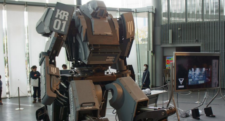Meet KURATA, The World's First Robotic Mech Suit 5