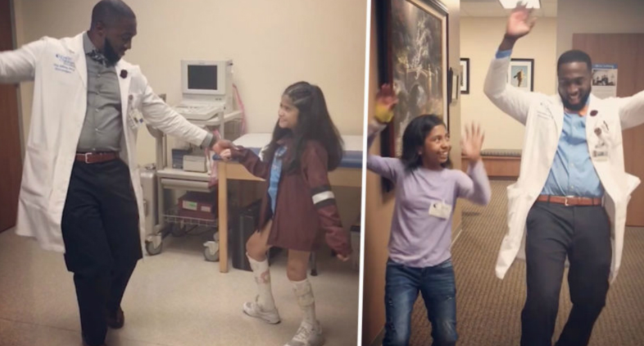 Dancing Doctor Brings Joy To Seriously Ill Children 5