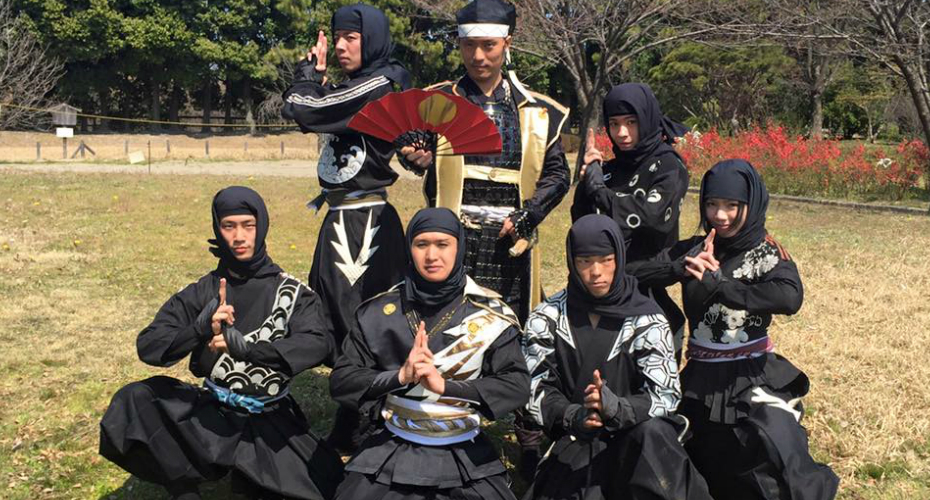 American Ninja: See Japan's First Foreigner Hired As Traditional Warrior In Action 9