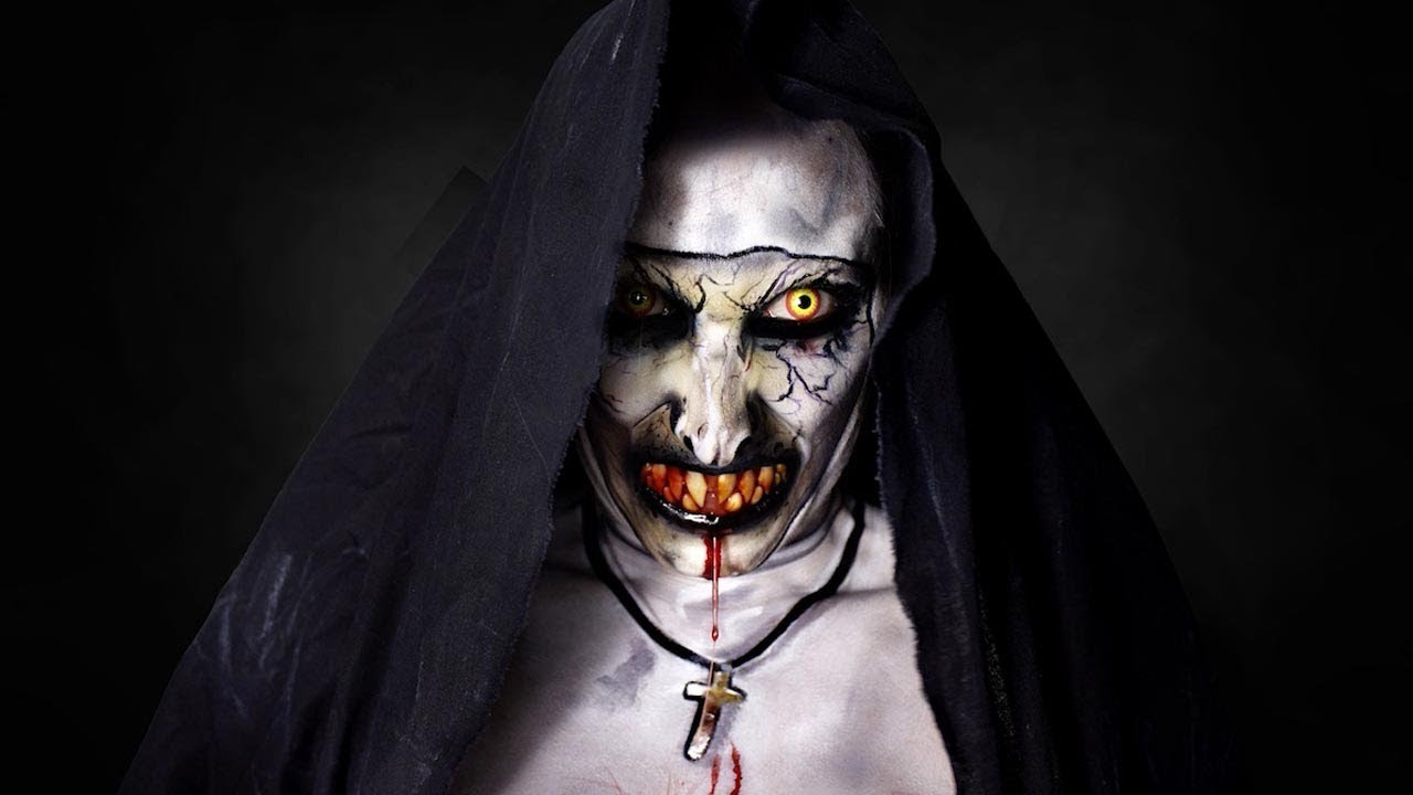 "Talented Make-Up Artist Transforms Into The Conjuring's ""Nun"" 5"