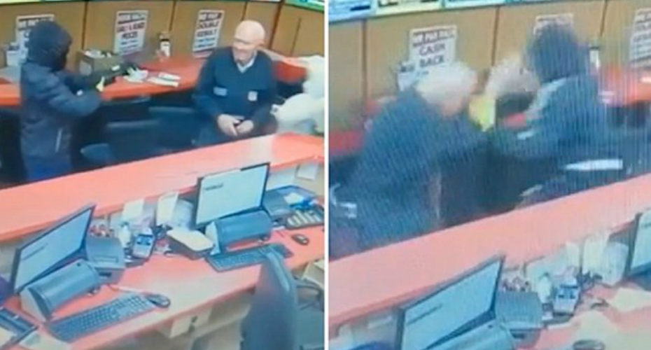 Fearless 83-Year-Old Customer Fight Off Armed Robbers 6
