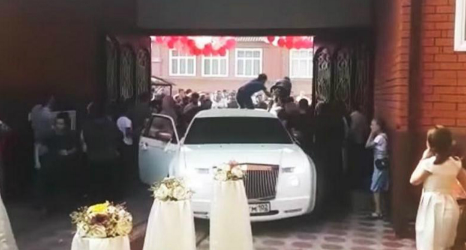 Chechen Wedding: Fun, Beating and Shooting 3