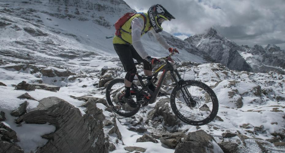 POV Footage Of Insane Downhill Bike Race 9