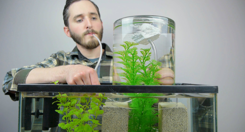 How To Make a Vacuum Suspended Fish Tank 1