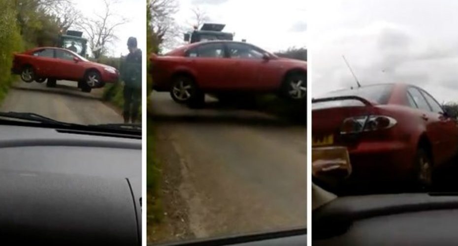 Here's Why You Should Never Park Your Car Wherever You Like In The Country 1