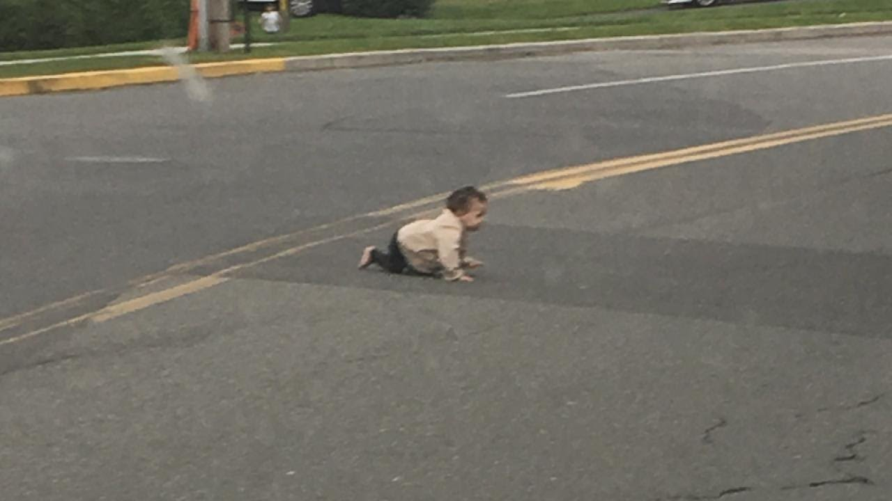 How Did a 10-Month-Old Baby Crawl Onto Busy New Jersey Road? 1