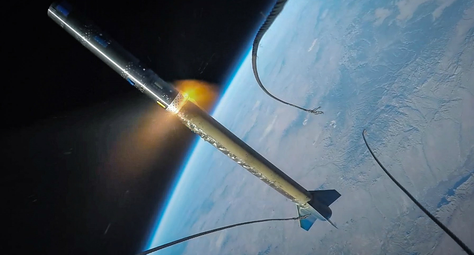 GoPro Footage Captures Rocket Being Launched Into Space 3