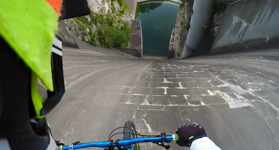 Insane Guy Rides Down a 200-Foot Dam And Plunges Into Utter Chaos Below! 3