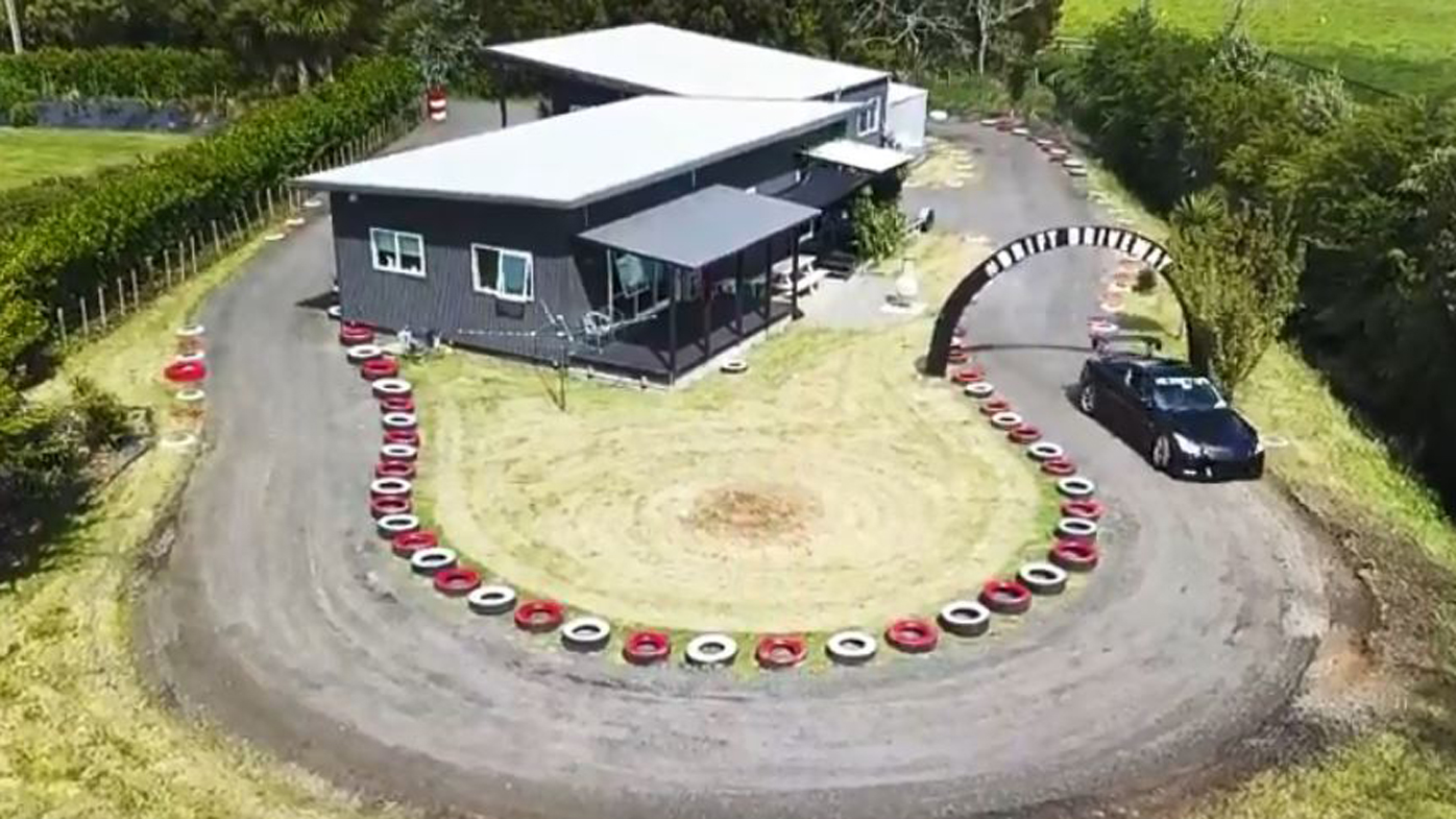 Dad Spends $16,000 Turning His Backyard Into A Race Track 6