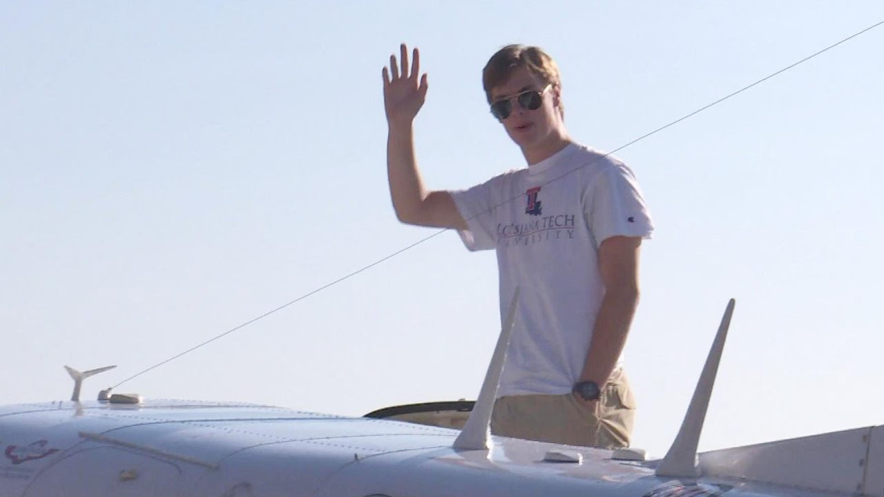Louisiana Teen Becomes Youngest Pilot to Circumnavigate the Globe Solo 5