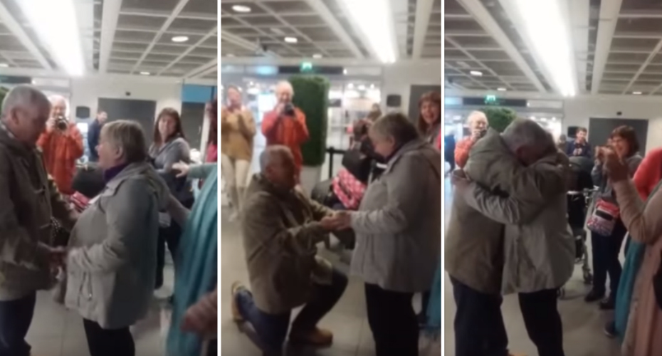 This Proposal At Dublin Airport Is The Sweetest Thing You'll See Today 9