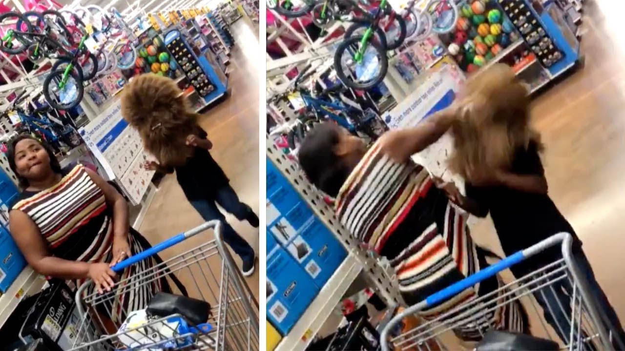 Mom Accidentally Punches Son Who Tried to Scare Her With Chewbacca Mask 7