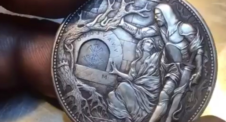 This Carved Coin Has A Surprise 9