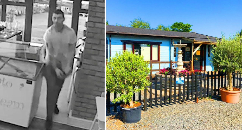 "Cafe Owner Scares Off Burglar From 4,000 Miles Away: ""I Can See You"" 5"