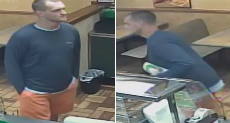 Robber Comes Back For His Sandwich At Subway 6
