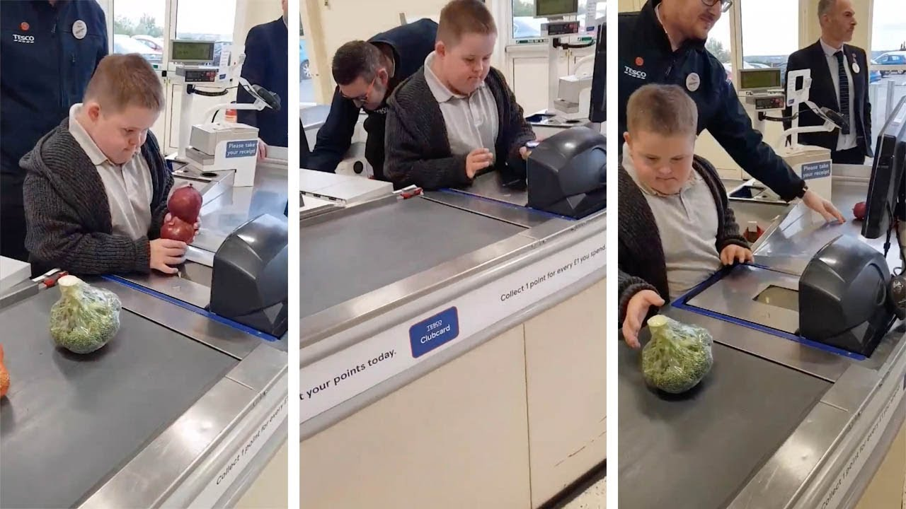 Boy With Downs Syndrome Invited To Scan At Supermarket 3