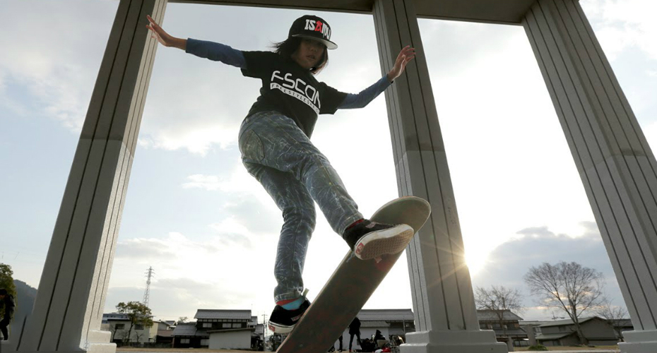 This 12-Year-Old's Skateboarding Skills Defy Reason 8