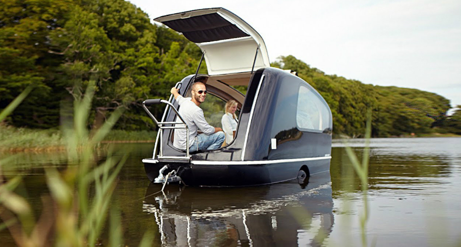 Ultimate Glamping: The Caravan That Floats Like a Boat 3
