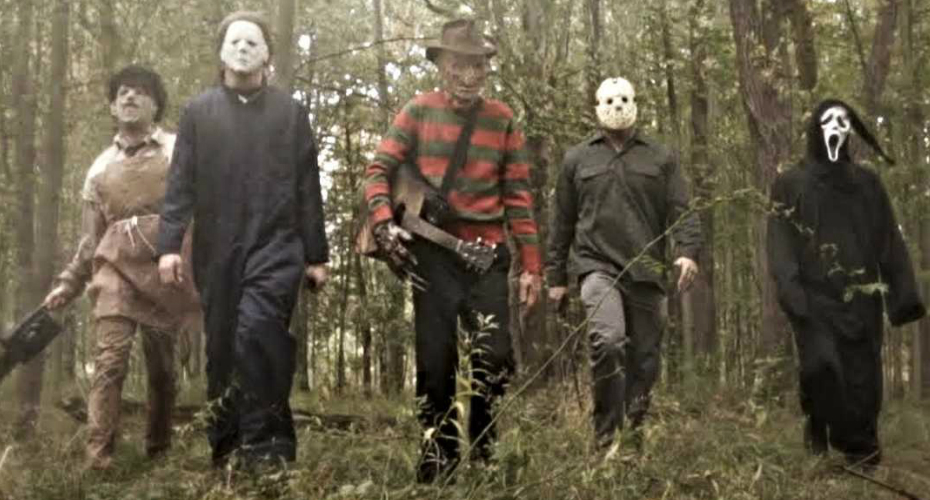 Horror Icons Become The Boy Band Of Your Nightmares In Backstreet Boys Parody 7