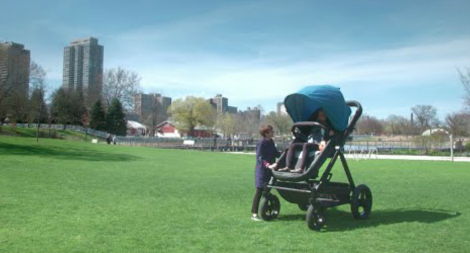 A Stroller Company Made a Grown-Up Version For Adults To Test Ride 1