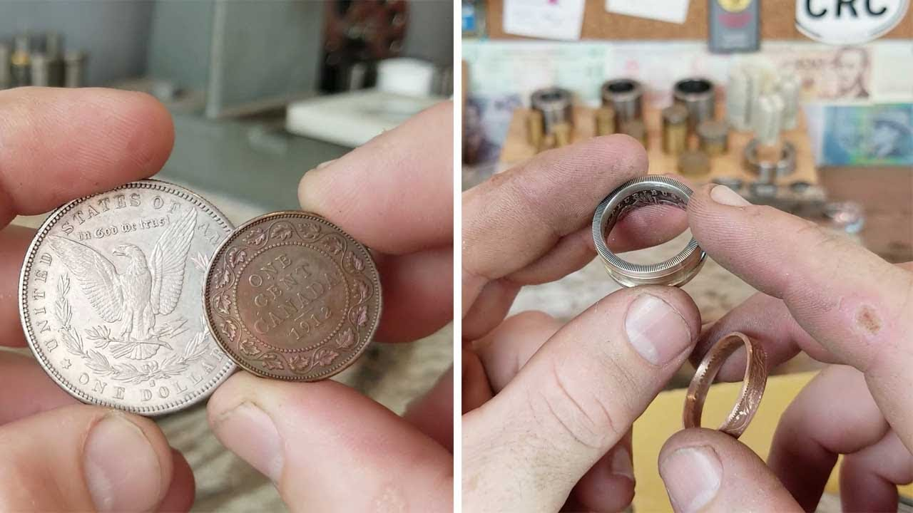 Making A Ring Out Of A Coin 6