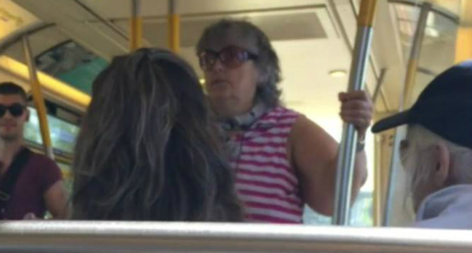 Train Passenger Stand Up Against Woman Verbally Attacking Filipino Couple In Vancouver 9