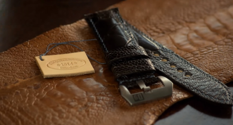 Watching a Leather Watch Strap Get Made Is Actually Very Impressive 3