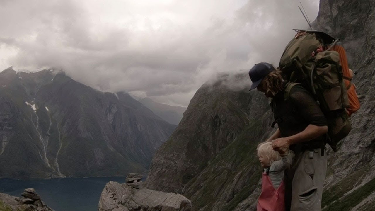 Dad Adventures Around Norway With Two-Year-Old Daughter 7