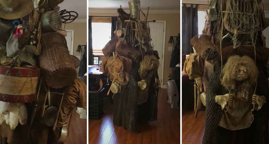 This 'Labyrinth' Junk Lady Costume Is An Incredible Tribute To Jim Henson's Work 5