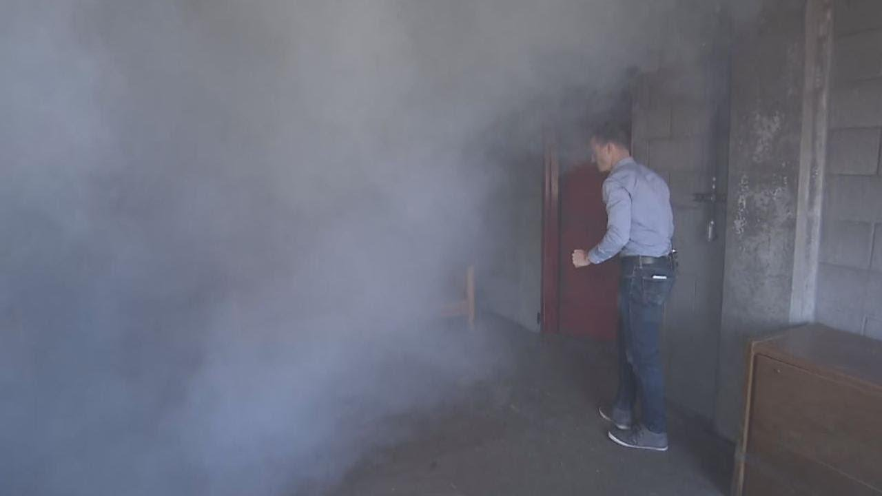 How to Escape Safely if a Smoke Bomb Goes Off 1