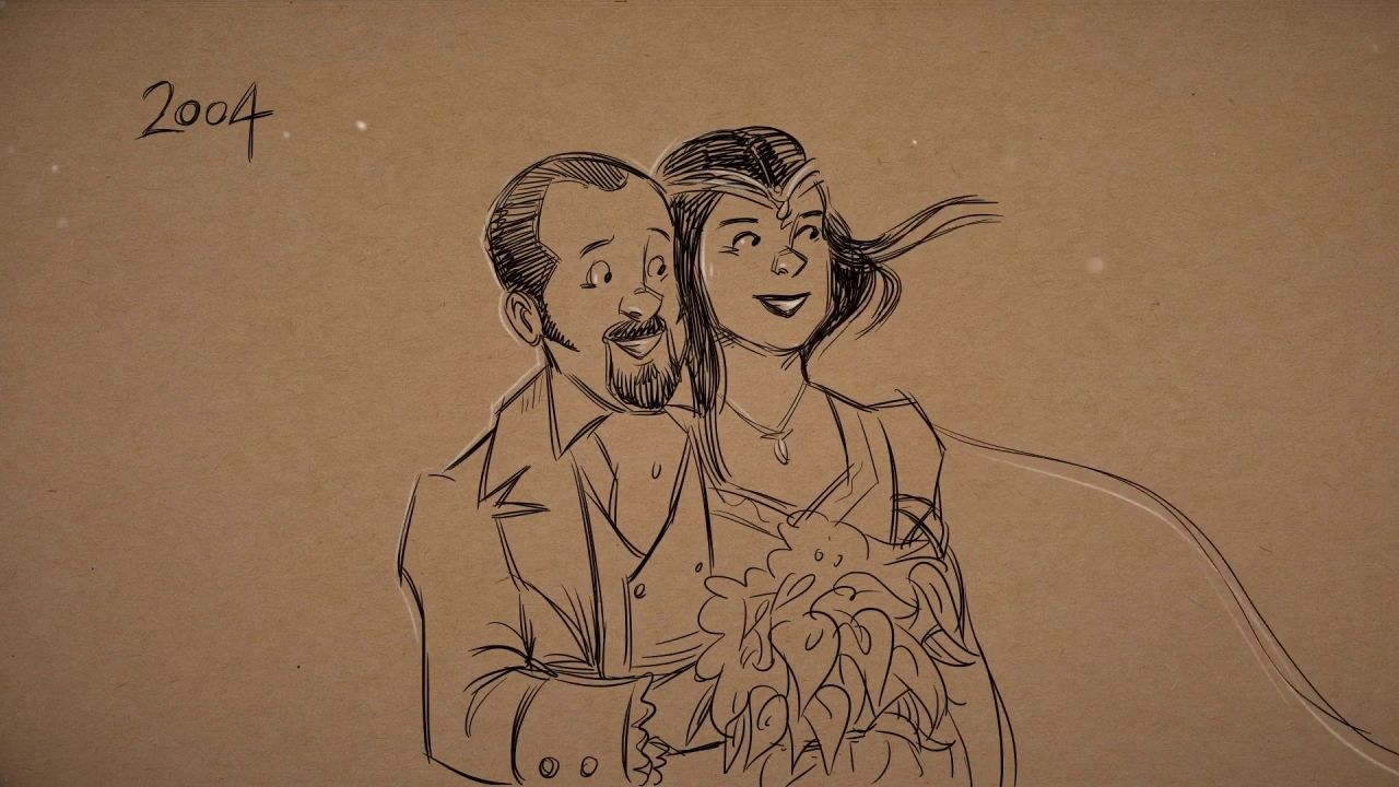 Ex- Disney Animator Illustrates Life With Children After Wife Dies 6