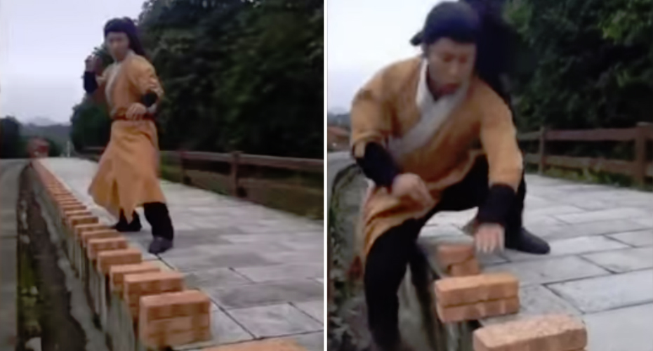 Chinese Man Chops Through 100 Bricks In 37 Seconds 4