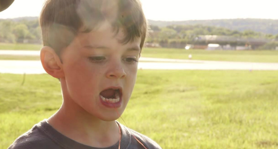 Dad Pulls Son's Tooth Out With An Actual Helicopter! 7