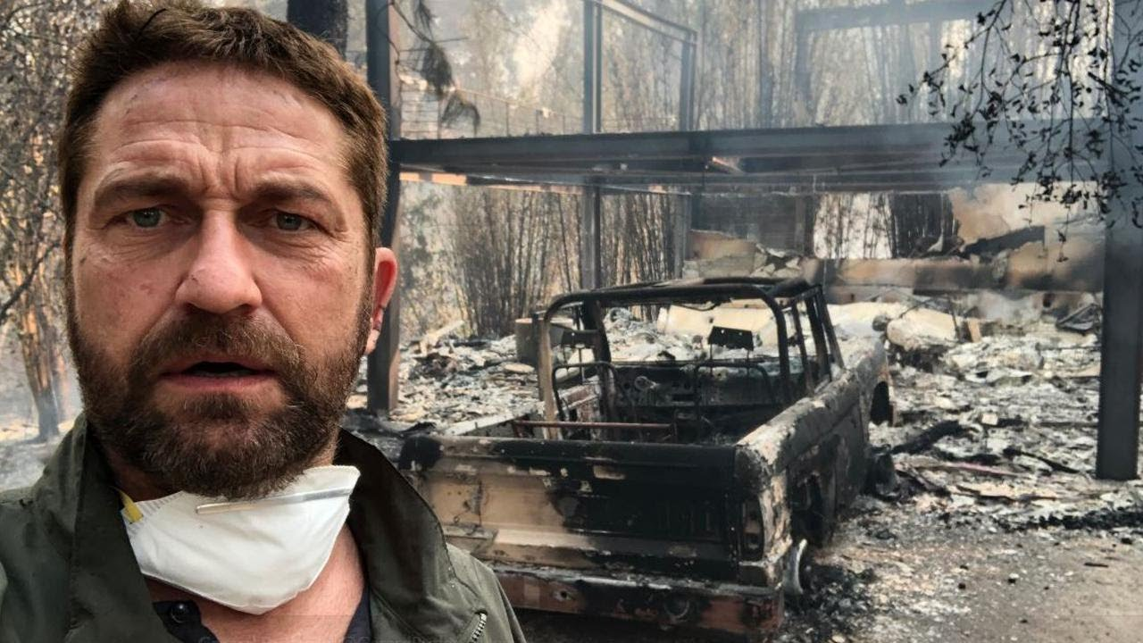 Miley Cyrus, Gerard Butler Among Stars to Lose Homes in California Wildfires 2