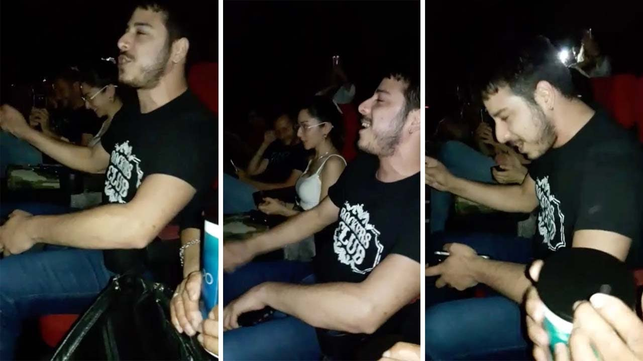 Singer Starts Impromptu Queen Performance With Cinema Audience 3
