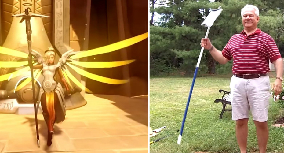 Overwatch Emotes Re-enacted By a Suburban Dad Are The Best Thing You'll See All Day 1