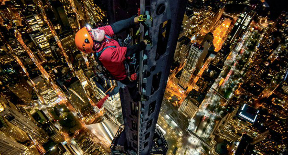A Photographer Climbs the Spire of One World Trade for a Breathtaking 360° View of New York City 4