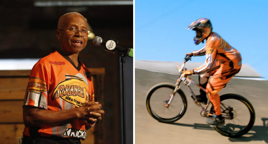 Meet The Oldest Female BMX Racer In The U.S. 1