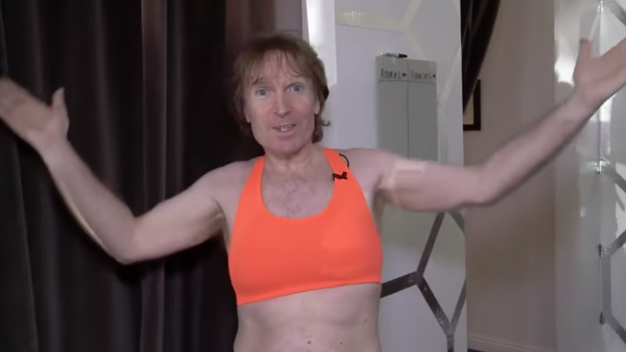 Meet the Man Who Got Breast Implants After Losing a Bet 2
