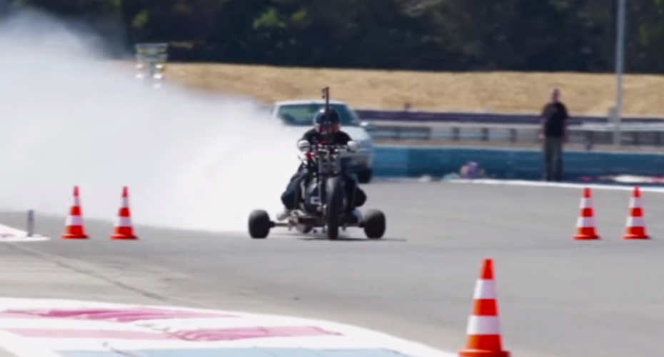Water Powered Rocket Trike Reaches 0-100 kph In Just 0.55 Seconds 7