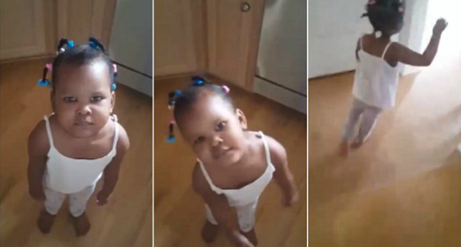 Little Girl Has Adorable Reaction To Being Caught Out For 'Cupcake Theft' 1