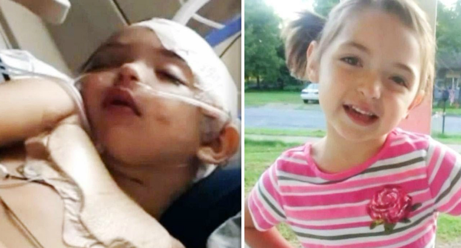 5-Year-Old Arkansas Girl Fights for Her Life After Dresser and TV Fell on Her 1