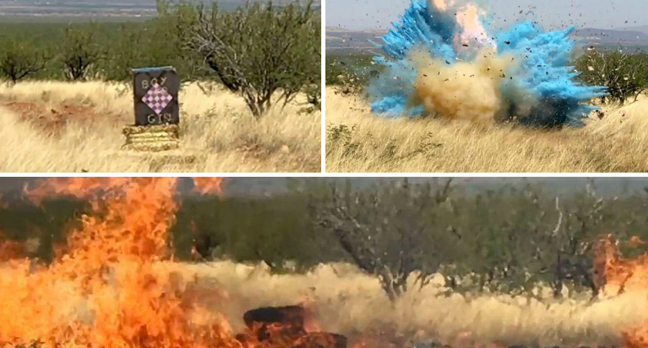 Border Agent's Gender-Reveal Explosion Causes Massive Arizona Wildfire 2