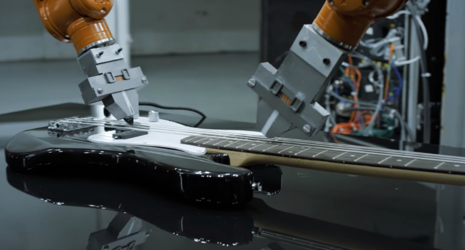 Robots Are The Ones Playing The Instruments In This Cool Music Video 9