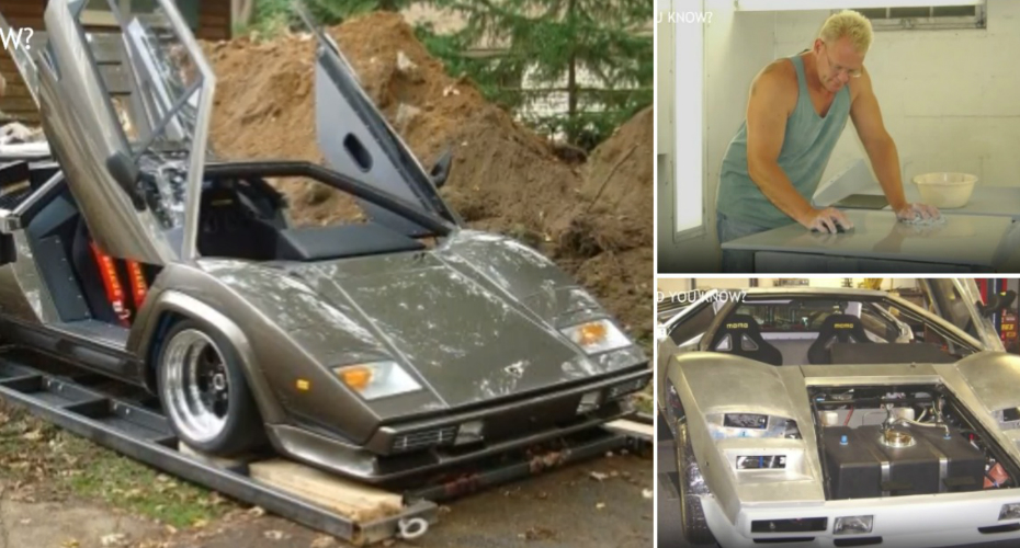 It Took Him 17 Years To Build A Lamborghini From Scratch 7