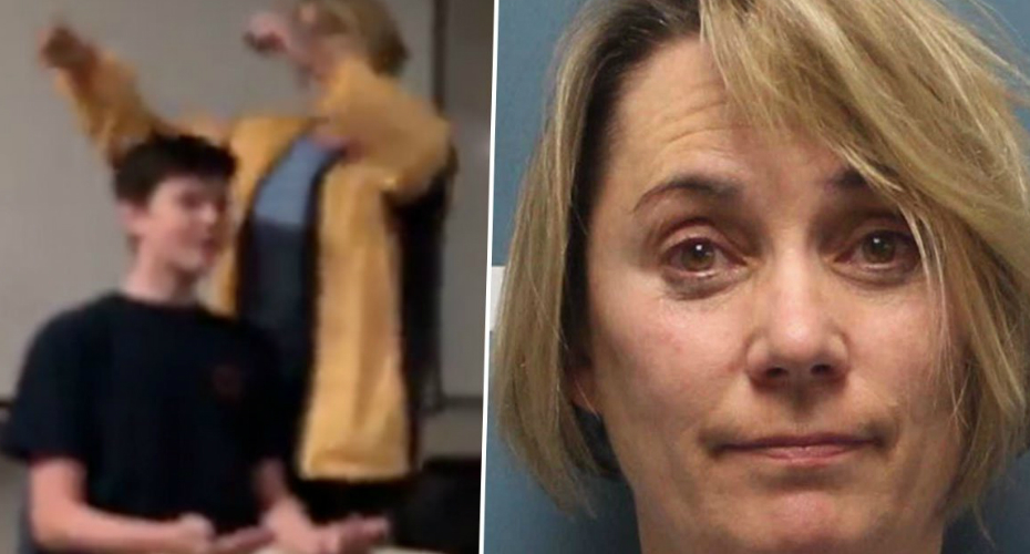 Teacher Arrested After Video Shows Her Forcibly Cutting Student's Hair While Singing National Anthem 7