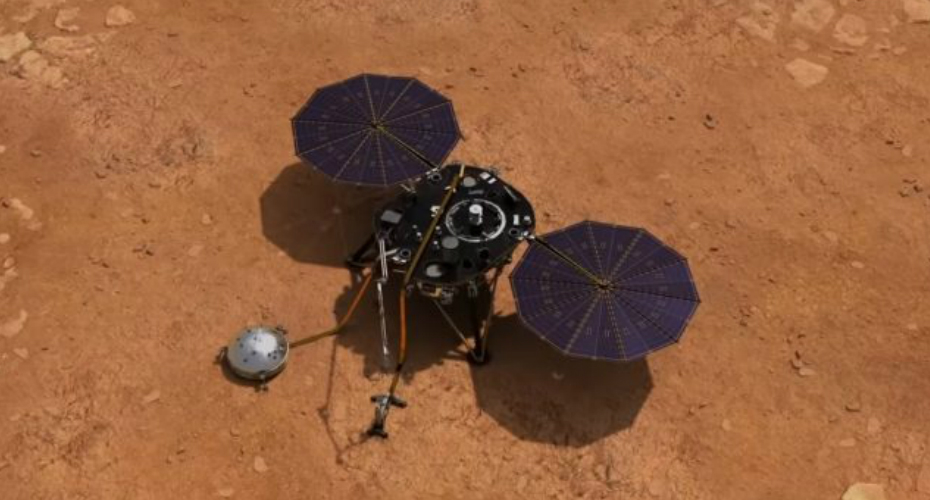 Sounds Of Mars Wind Captured By Nasa's Insight Lander 2