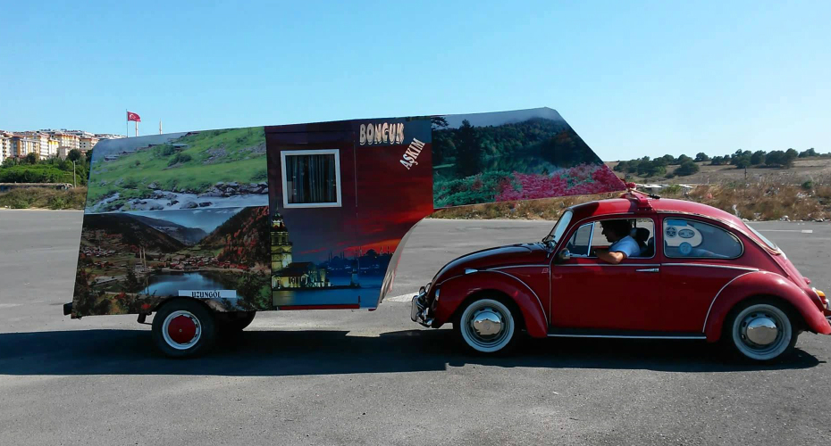 The Craziest Volkswagen Bug RV Camper Combo Ever 5